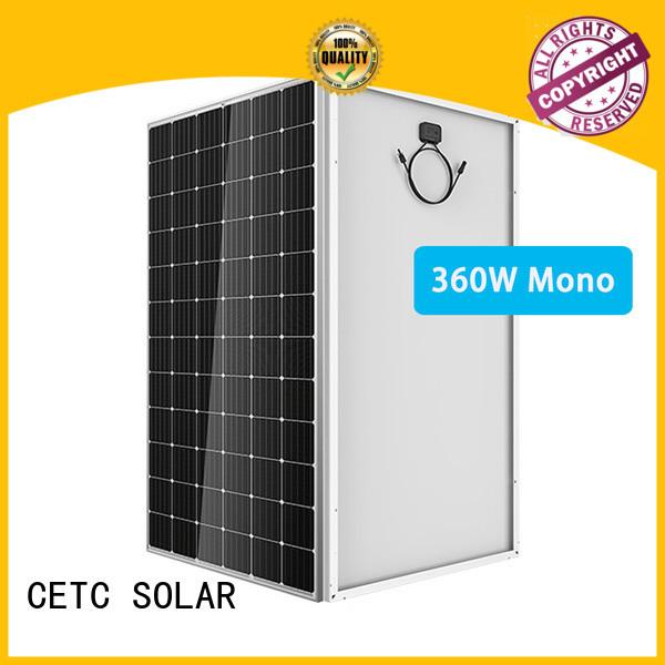CETC SOLAR custom mono crystalline solar panel supply for factory