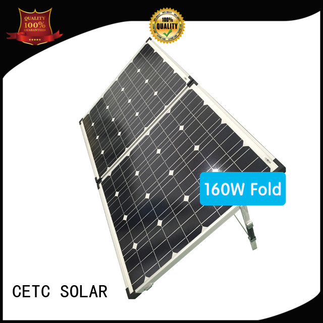 CETC SOLAR outside best foldable solar panel company for business