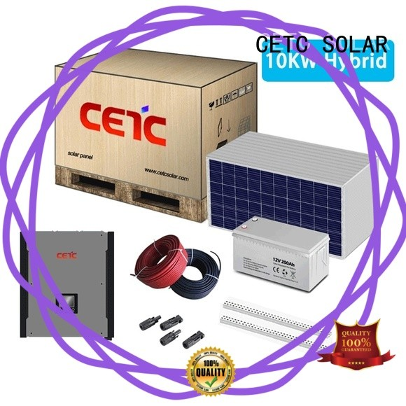 best solar hybrid power systems complete kit for business
