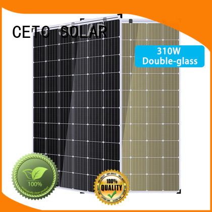 best double glass solar panel factory for outdoor energy