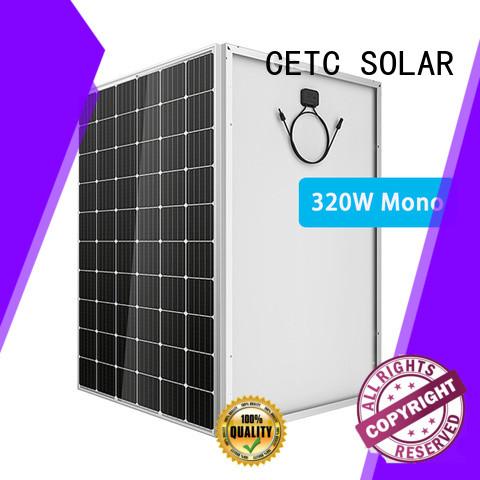 CETC SOLAR monocrystalline solar panel install for home