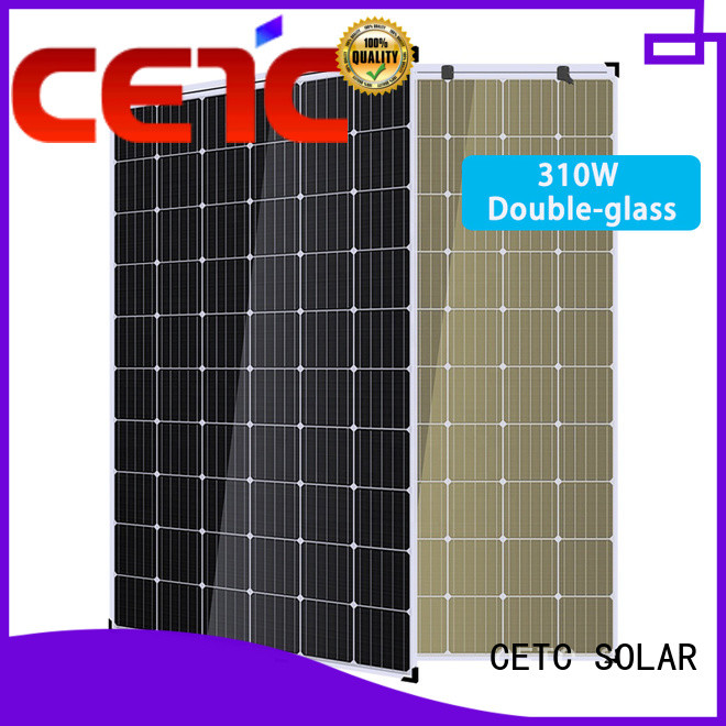 CETC SOLAR double glass solar panel company for home