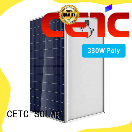 CETC SOLAR polycrystalline silicon solar panels with certificate for company