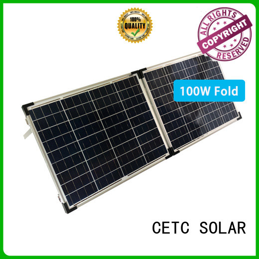 CETC SOLAR fold solar panel supply for ouotdoor activity