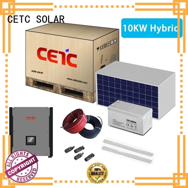 CETC SOLAR good selling hybrid solar energy systems manufacturers for home