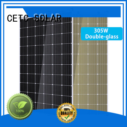 CETC SOLAR double glass solar panel factory for home