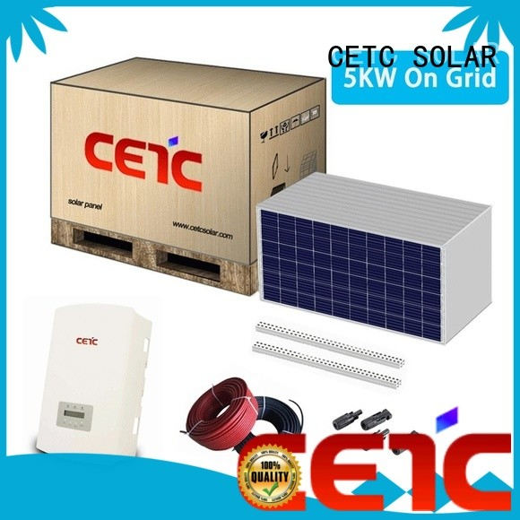 CETC SOLAR best on grid solar system suppliers for lighting