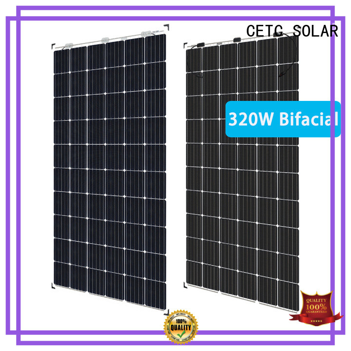 high-quality bifacial solar panels install for industry