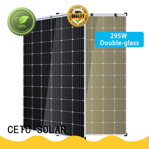 good selling double glass solar panel company for home