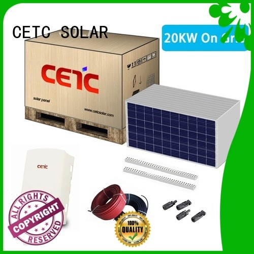 best solar power system on grid supply for business