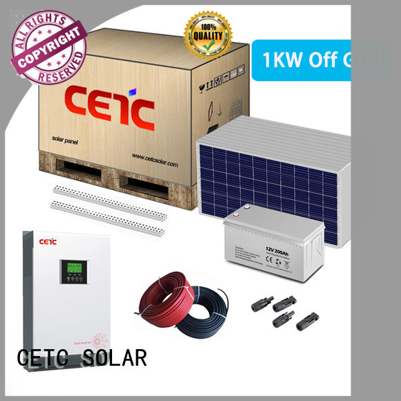 CETC SOLAR factory price best off grid solar system manufacturers for sale