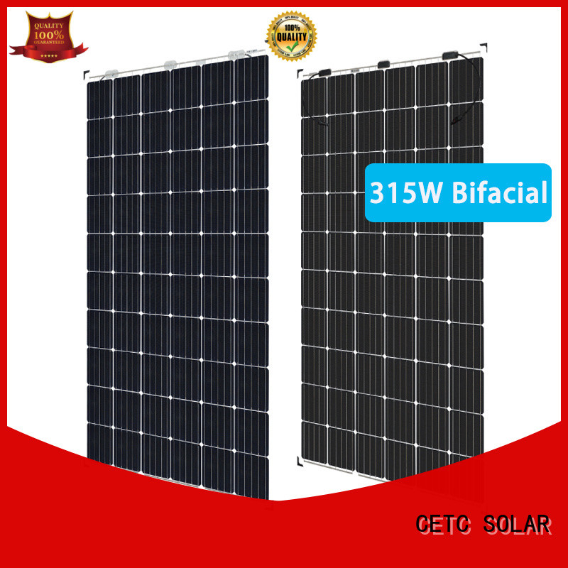 CETC SOLAR bifacial photovoltaic panels manufacturers for industry