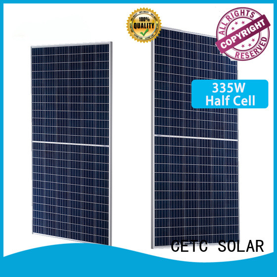 CETC SOLAR wholesale half cell solar panel factory for home