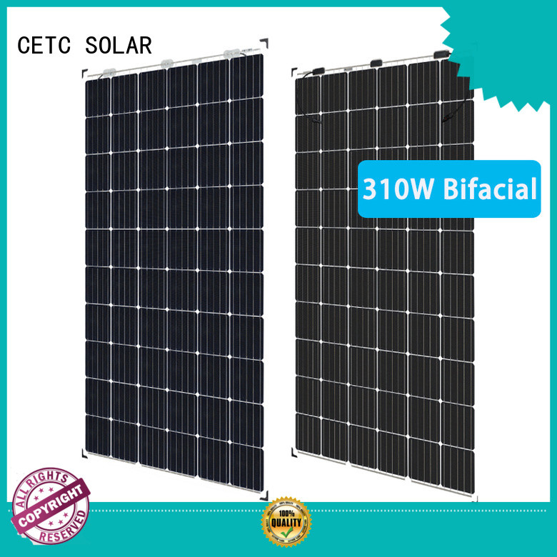 roof bifacial solar panel manufacturers for sale