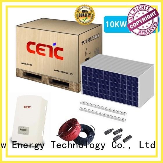 CETC SOLAR solar system on grid supply for lighting