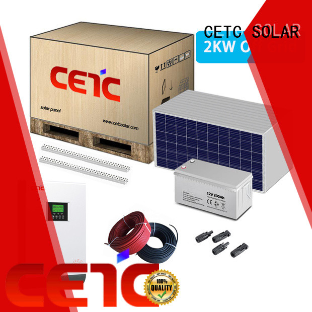 CETC SOLAR wholesale off grid solar power system manufacturers for business