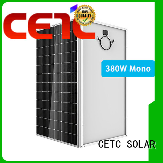 CETC SOLAR mono solar cell install for factory
