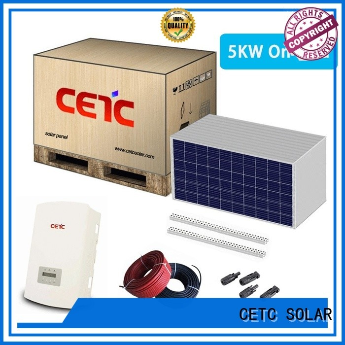 CETC SOLAR top solar system on grid supply for home