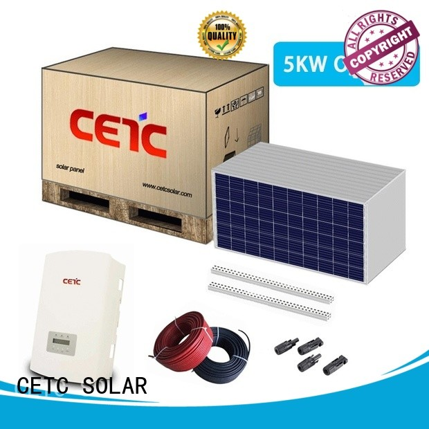top on grid solar system supply for business