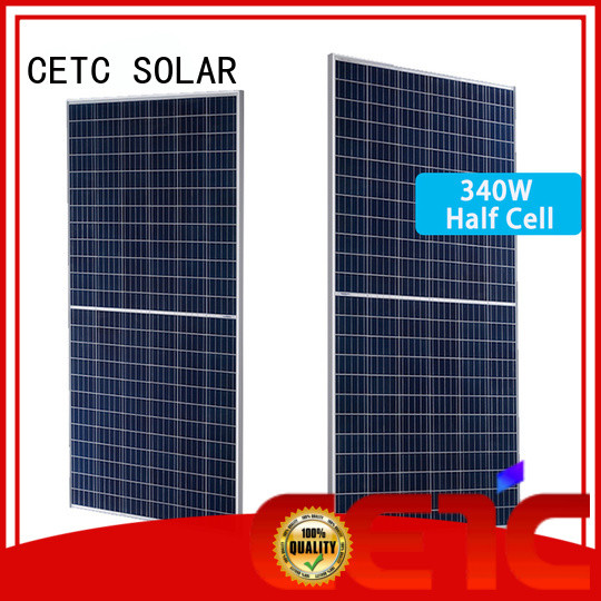 CETC SOLAR solar panel half cell factory for home