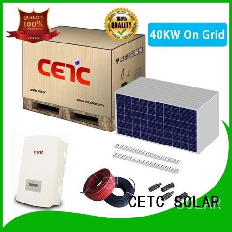 CETC SOLAR best solar power system on grid suppliers for home