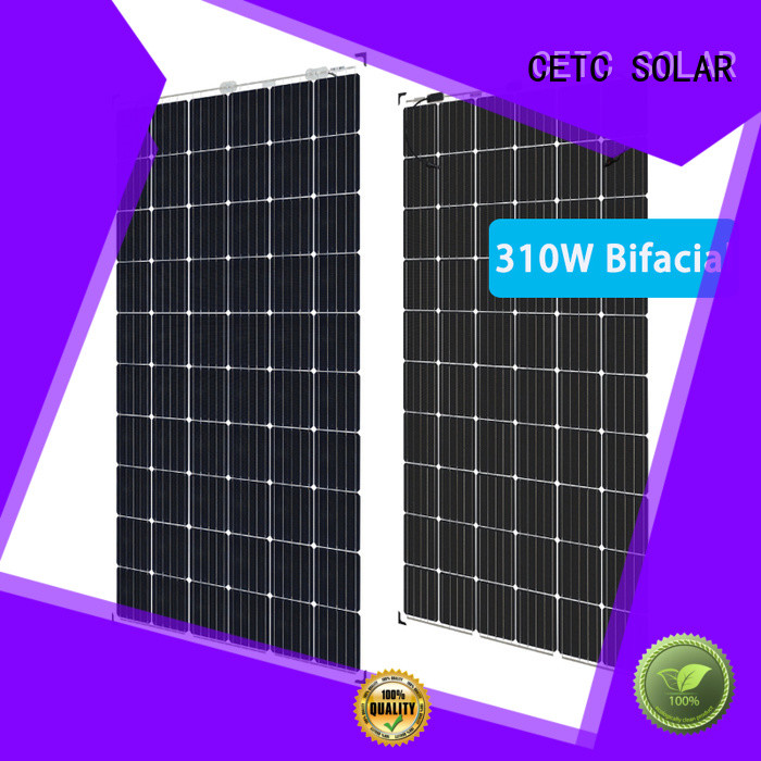 CETC SOLAR bifacial photovoltaic panels factory for sale