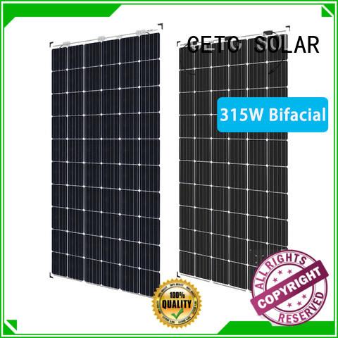 roof bifacial solar panels suppliers