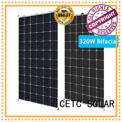 CETC SOLAR hot sale bifacial solar panel manufacturers