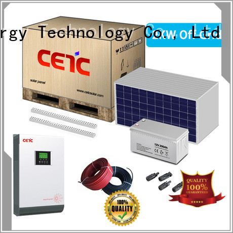 CETC SOLAR professional off grid solar system with battery storage for home