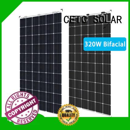 CETC SOLAR custom bifacial solar panel company for sale