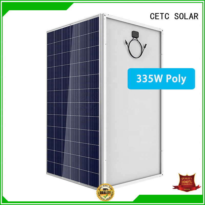 CETC SOLAR polycrystalline solar cells with certificate for company
