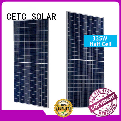 CETC SOLAR half cut module company for home