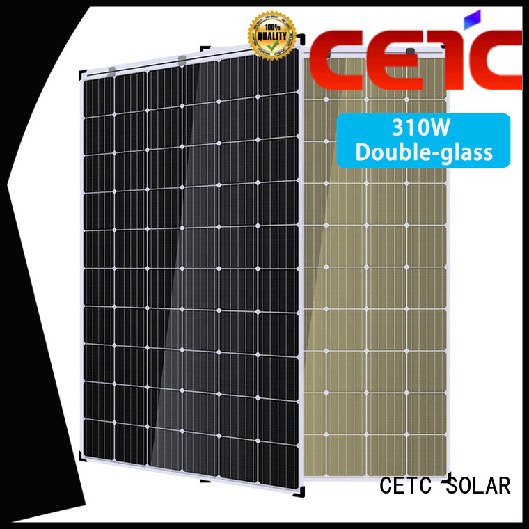 CETC SOLAR latest double glass solar modules manufacturers for outdoor energy