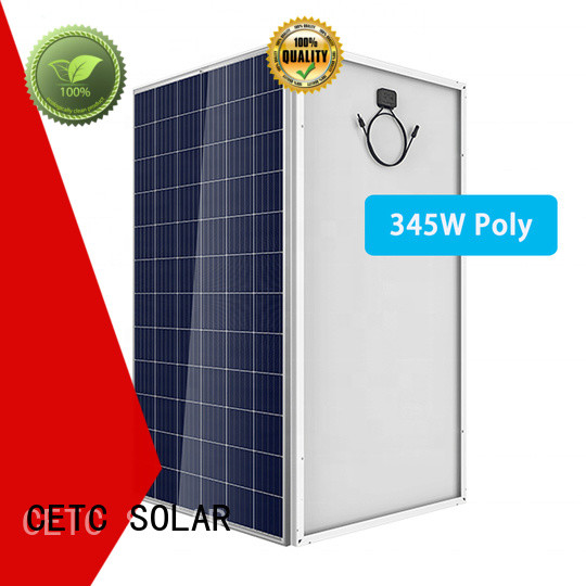 CETC SOLAR new polycrystalline silicon solar panels with lowest price for business
