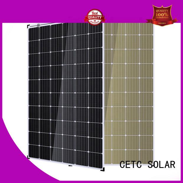 CETC SOLAR double glass solar modules suppliers for home