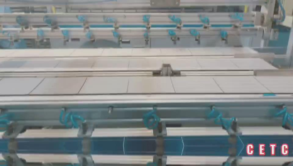 CETCSolar Mono/Poly/Half cell/Double glass/ Bifacial solar panel production line