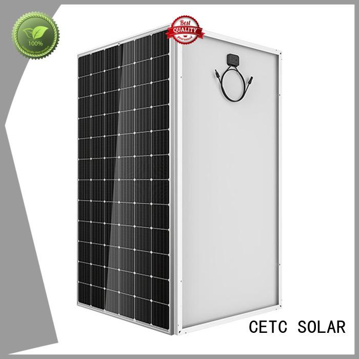 CETC SOLAR mono crystalline solar panel install for business