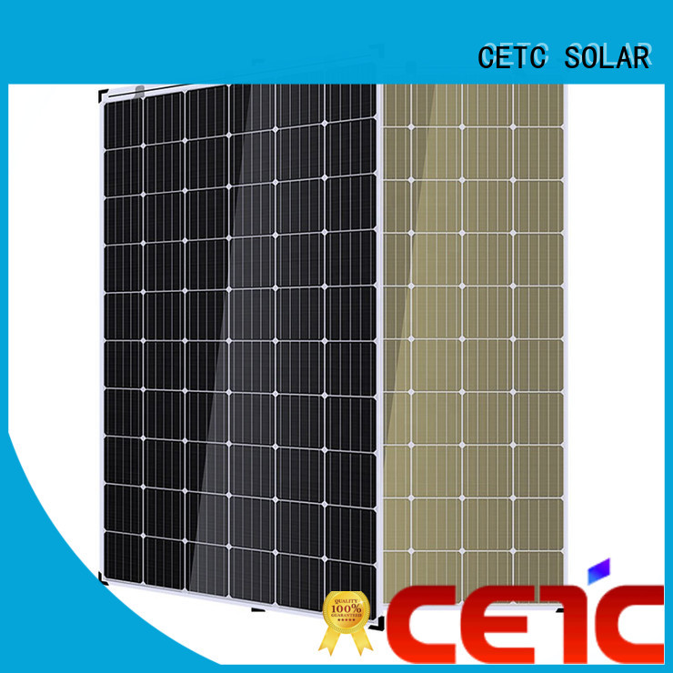 CETC SOLAR no frame double glass solar panel company for outdoor energy
