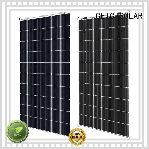 CETC SOLAR frameless bifacial solar panels company for sale
