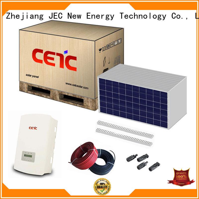 CETC SOLAR solar power system on grid supply for lighting